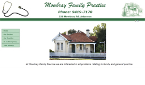 Visit the Mowbray Family Practice website
